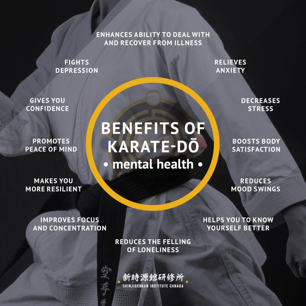mental benefits of karate