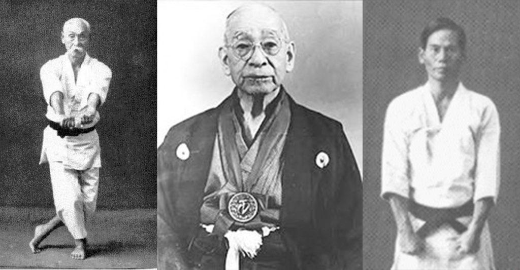 Chomo Hanashiro, Choshin Chibana and Shimpan Gusukuma